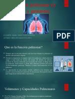 Función pulmonar en feto y gestantes
