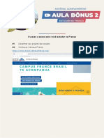 Material - AULA BÔNUS 2 - IMERSÃO PROJETO FRANCÊS 2021
