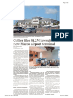 Collier files $1.2M lawsuit over Marco Island airport terminal - Naples Daily News 03232021