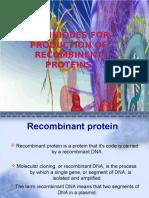 REcombinent protins