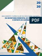 Documento Curricular da Educacao Infantil da SME de Goiania 2020
