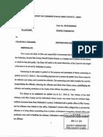 State's Reader Sentencing Memorandum
