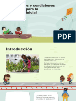 Modalidades y condiciones de calidad para la educación