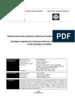 24-FR-Audit Système Afrique - Strat. BAfD-BM