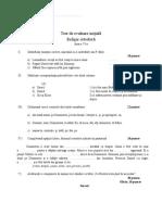 Test Evaluare Initiala Cls 6