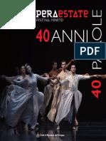 Operaestate Festival 40 ANNI 40 PAROLE