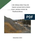 Rapport Metaux Thetford FINAL