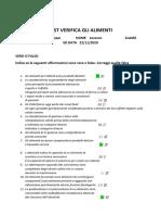 Test Alimenti Pompei Lorenzo Vd