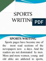 SPORTS-WRITING