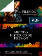FILEMÓN PRESENTACIÓN - METODO HISTORICO