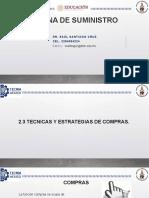 2.3 Tecnicas y Estrategias de Compras