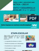 Crecimiento y Desarrollo Del Escolar - Practica