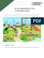 CUADERNILLO historia y ciencias sociales 2º BÁSICO 2021