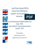 Mercado Eléctrico Regional de América Central_J. Hernández