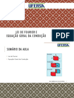 02 - LEI DE FOURIER E EQUAÇÃO GERAL DA CONDUÇÃO DE CALOR