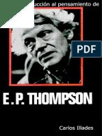 Carlos Illades – Breve Introducción Al Pensamiento de E. P. Thompson
