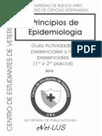 Principios de Epidemiologia -Guia de Actividades 2010