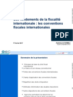Fiscalite Internationale Les Convention Fiscales