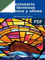 DICCIONARIO DE TERMINOS RELIGIOSOS Y AFINES
