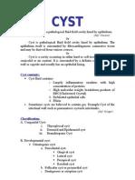My seminar on cyst