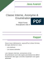 3-classe Interne et enumeration
