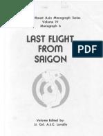 Vol. IV Last Flight from Saigon