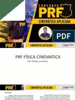 PRF FISICA CINEMATICA - 19.03 - Prof Rodrigo Cavalcanti