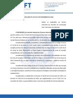 RESOLUCAO No 122.2020 - Define as Atribuicoes Do Tecnico Em Desenho de Construcao Civil (1)
