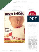 Mon Tricot Ano 1-Nº2-Revista Trico e Crochê