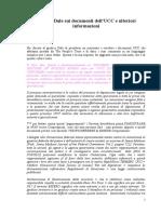 Giudice Dale Sui Documenti Dell'UCC