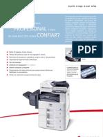 Ficha técnica multifuncional Kyocera A3 B/N FS6025MFP