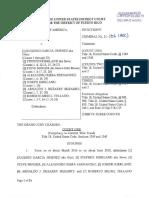 Acusación Federal - United States of America vs Arnaldo Irizarry y otros