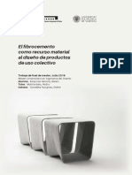 Esquinas - El fibrocemento como recurso material al diseño de productos de uso colectivo