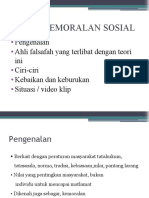 teori kemoralan sosial