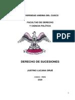 Derecho de Sucesiones Dr Lucana