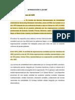 Introducción NIIF Historia
