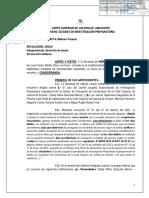 Declaran improcedente demanda de Habeas Corpus a Juan Carlos Morillo