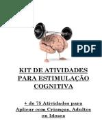 Kit de Atividades Para Estimulação Cognitiva 26.06.17