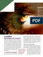 Nexus 64 - Matière Et Esprit - Analyse D'Une Illusion (Sept 2009)