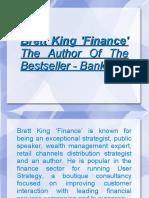 Brett King, Author Of The Bestseller - Bank 2.0