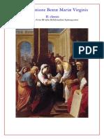 1.Maitines y Laudes In Purificatione Beatæ Mariæ Virginis ~ II. classis