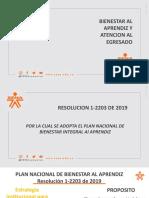 PRESENTACION BIENESTAR AL APRENDIZ