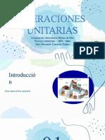 Exposición operaciones unitarias