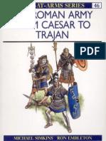 Roman Army From Caesar To Trajan