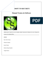 Manual Tecnico Version 1.0