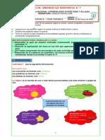 Ficha de lengua CASTELLANA 4°