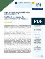 Le e Commeerce en Afrique de l Ouest