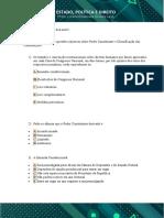 25 Questões objetivas sobre poder constituinte e classificação das constituições