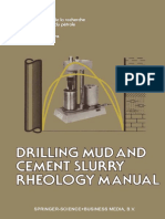 Drilling Mud and Cement Slurry (1982)