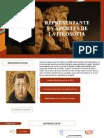 REPRESENTANTES DE LA FILOSOFIA